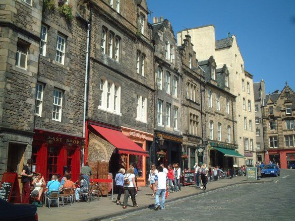 Grassmarket in Edinburgh - Auld Reekie Tour