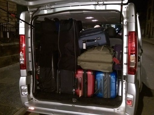 vehicle#2 - Luggage space